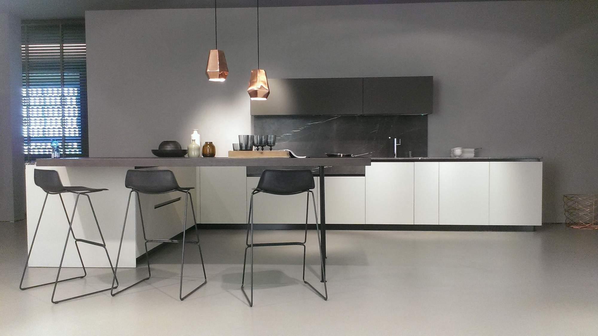 doimo cucine e il nuovo modello materia teti arredamenti
